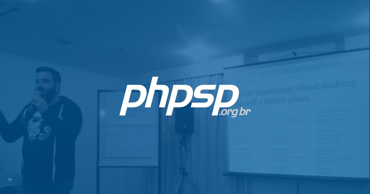 Meu primeiro meetup PHPSP